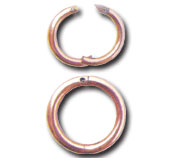 Bull Nose Copper Ring 80 mm