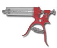 Multidose Gun Syringe  Metal Body  50 ml